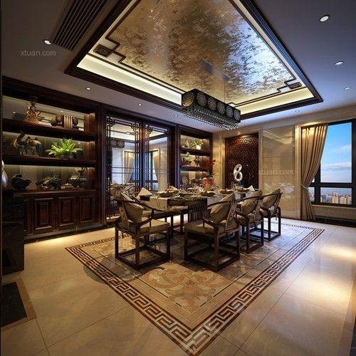 东原香山中式风格