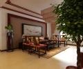 中海国际中式装修