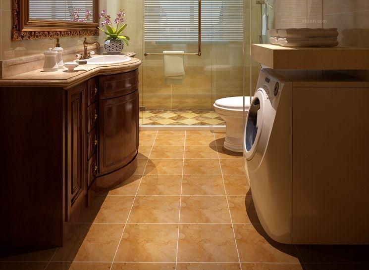 两居室古典风格卫生间