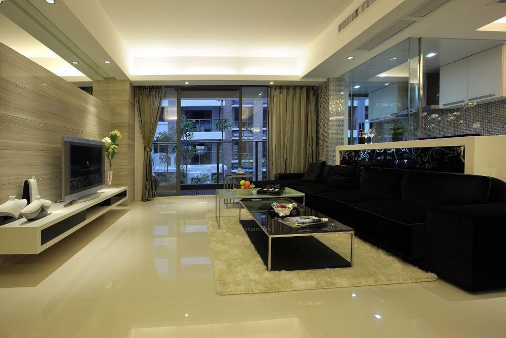 三居室时尚风格客厅