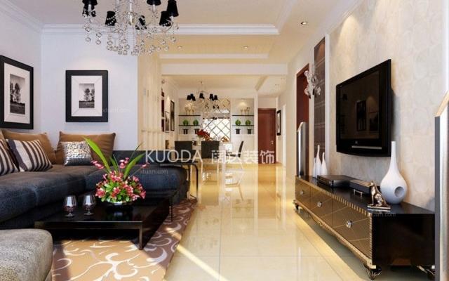 西山区兰亭上锦105平方米现代风格中户型6.9万万元