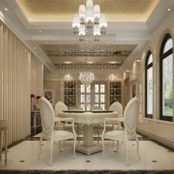 点石家装中粮北纬别墅现代风格装修设计效果