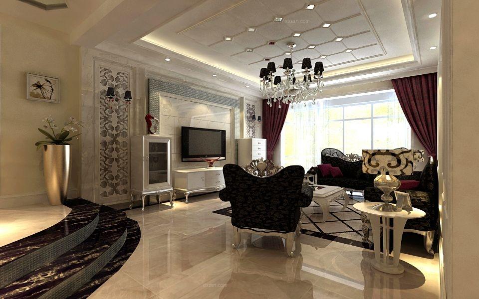 13673653144.盛润锦绣城+四室+后现代奢华