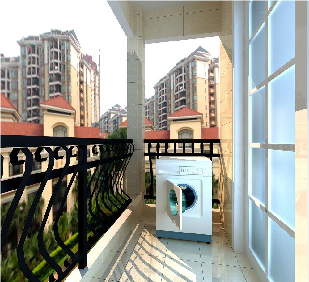 三室两厅欧式风格阳台
