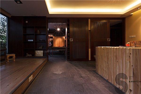 成都商铺装修设计—(成都私享)醒酒堂酒道馆