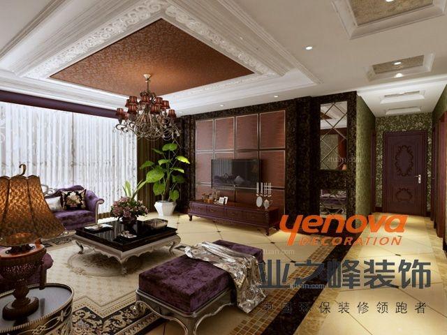 三室两厅新古典客厅
