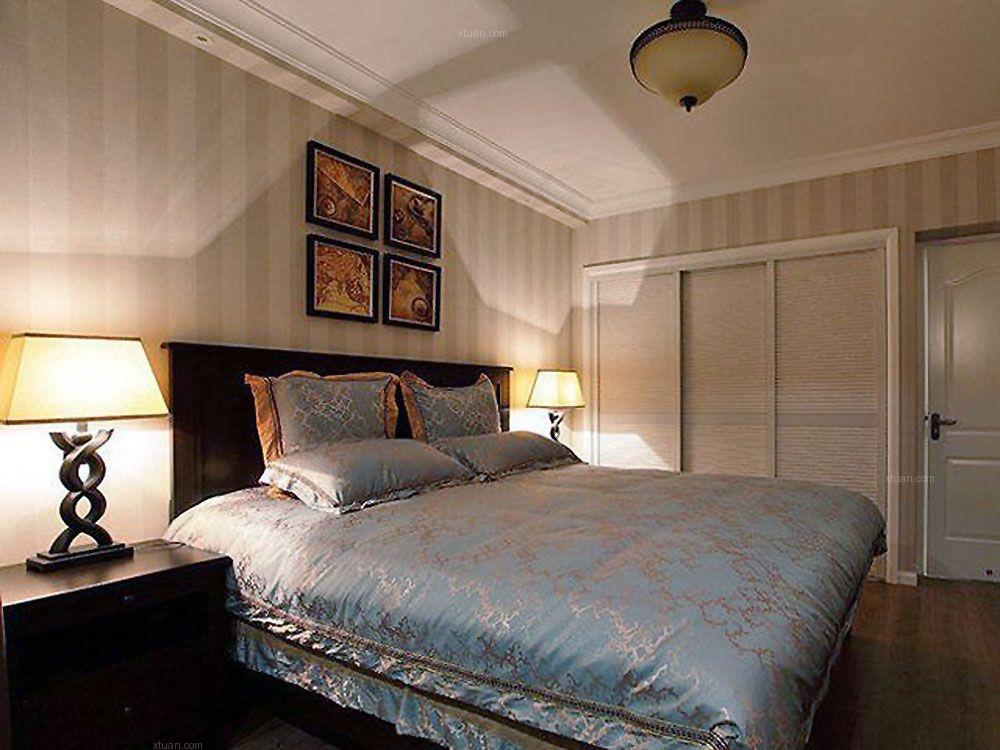 龙湖北城天街一期B2户型1室2厅1卫1厨 73.00㎡现代简