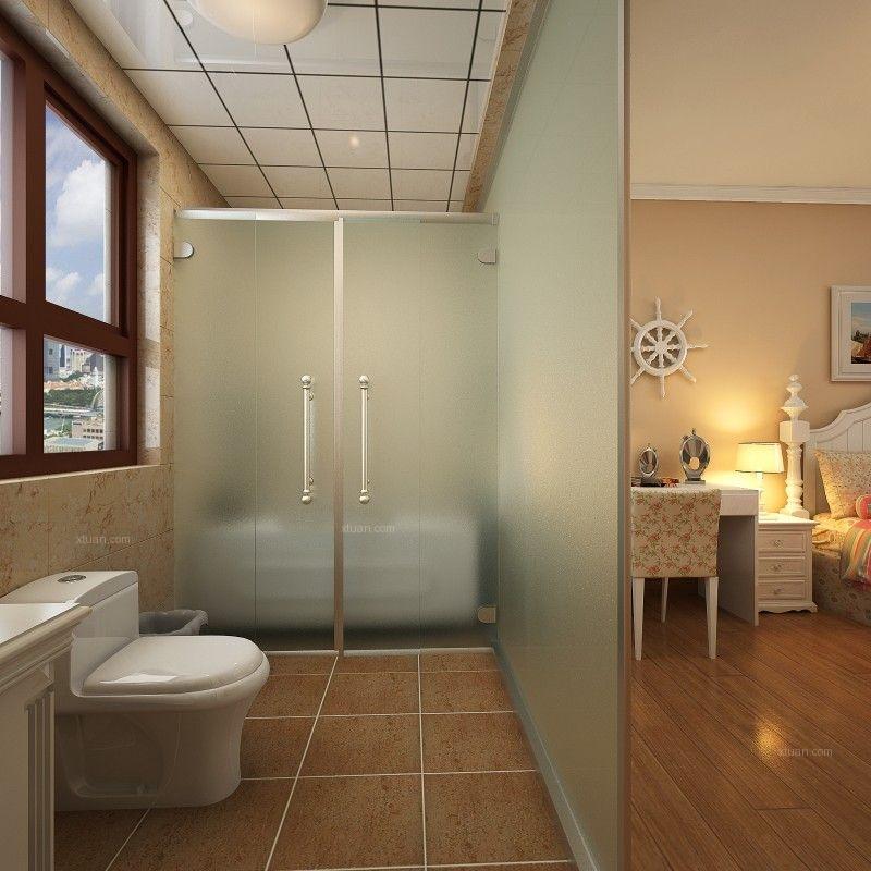 三居室混搭风格卫生间