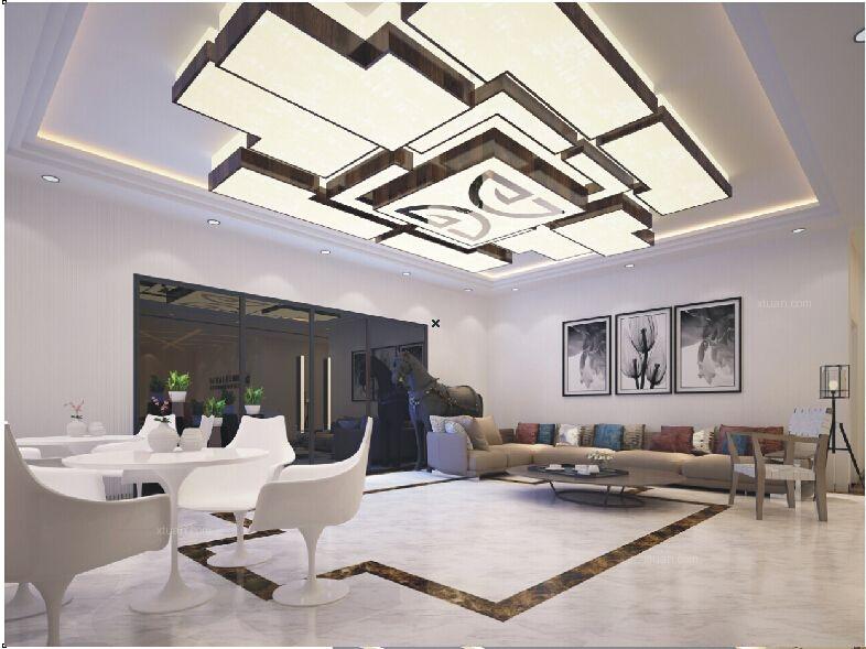 双流大家得国际沙发城展厅设计