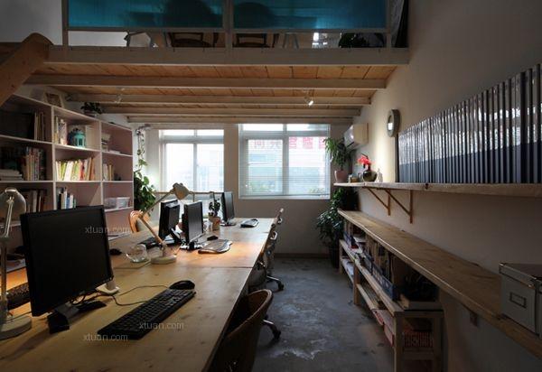 在地室内设计工作室装修效果图
