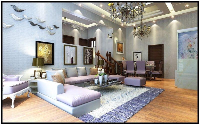 跃层现代风格客厅