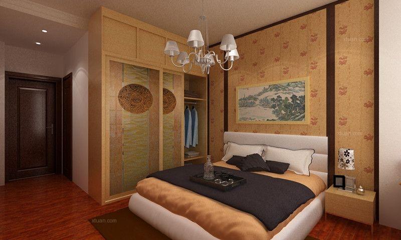 120平新中式四室两厅,三代同堂的温馨居室