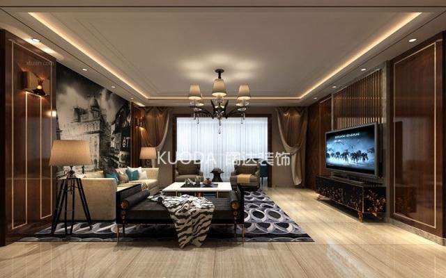 西山区金马跃兴园220平方米后现代风格中户型16.7万元