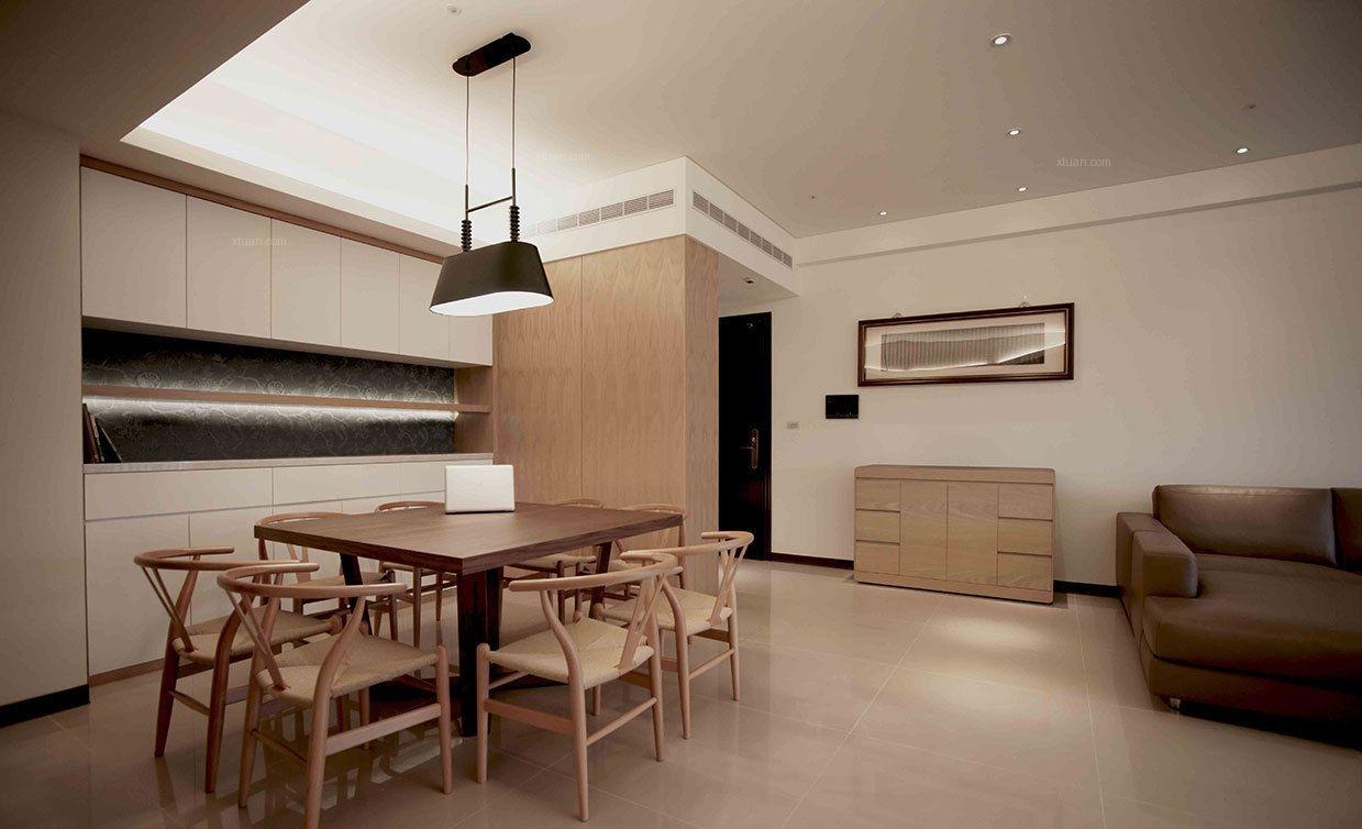 三居室简约风格餐厅
