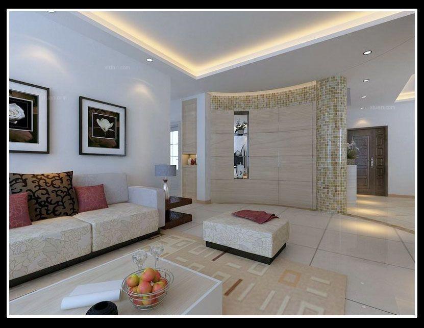 三居室现代风格客厅隔断