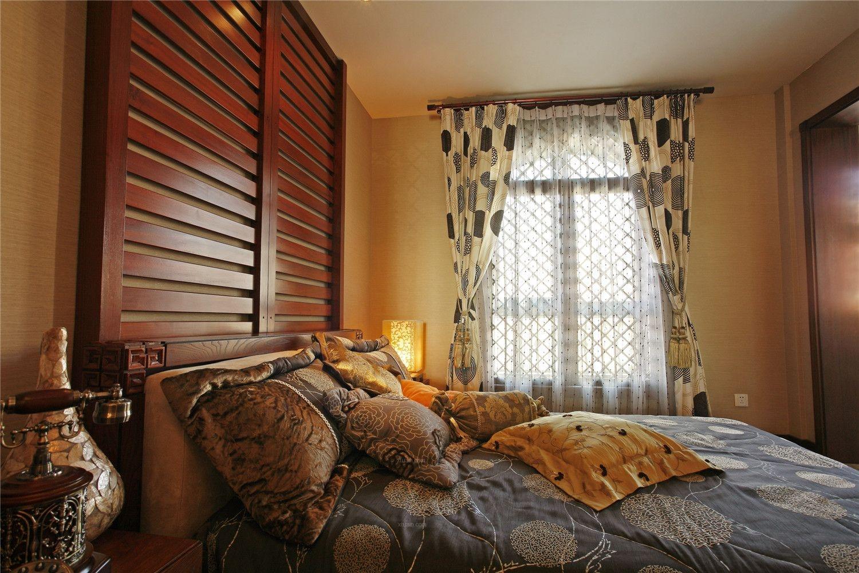 两居室东南亚风格卧室