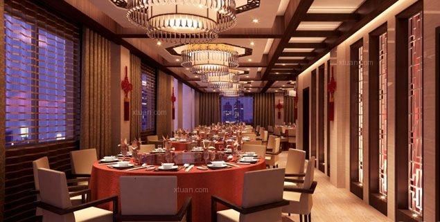 古典新中式餐厅设计