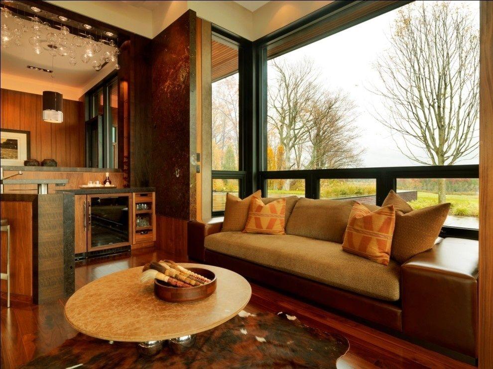 两居室混搭风格客厅地台