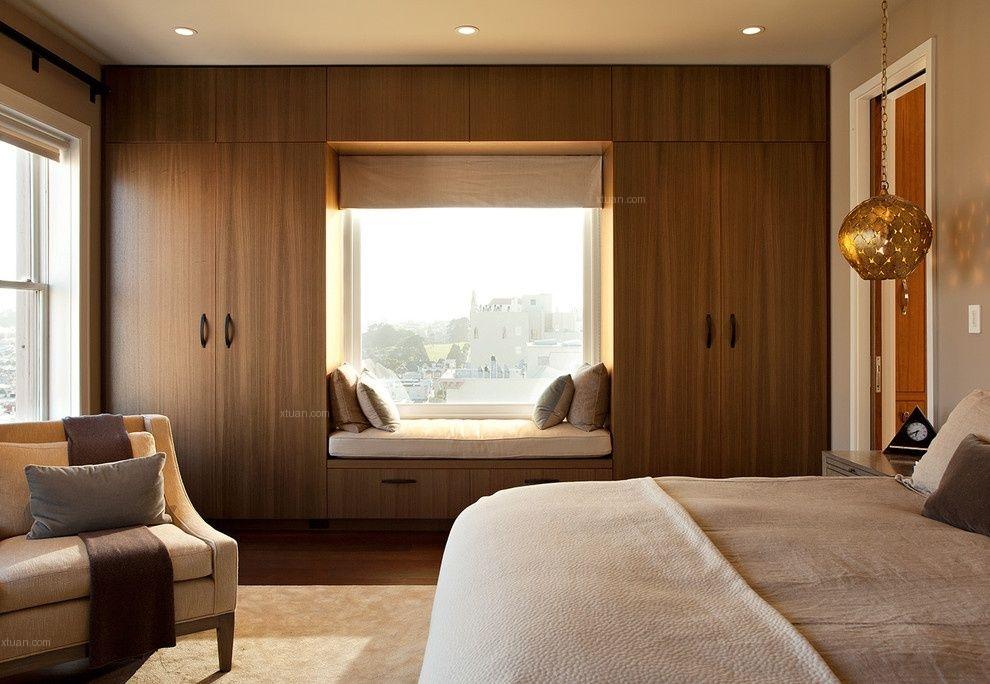 两居室混搭风格卧室软装