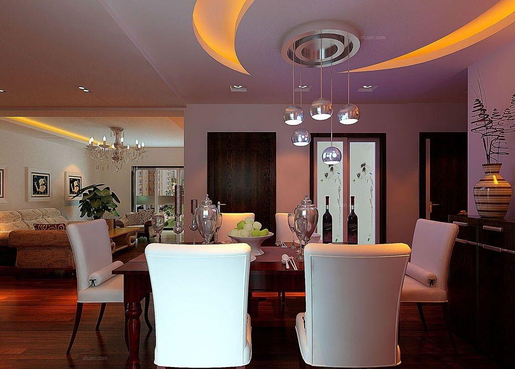 两室一厅混搭风格餐厅软装