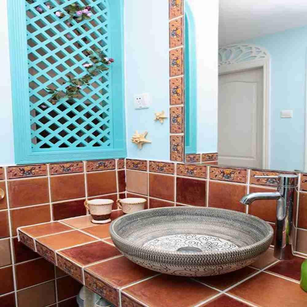 两室两厅地中海风格厕所