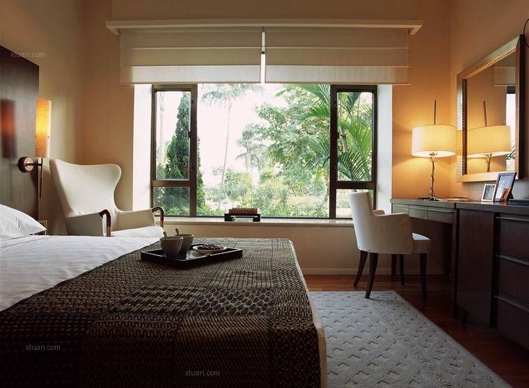 两室一厅现代简约卧室