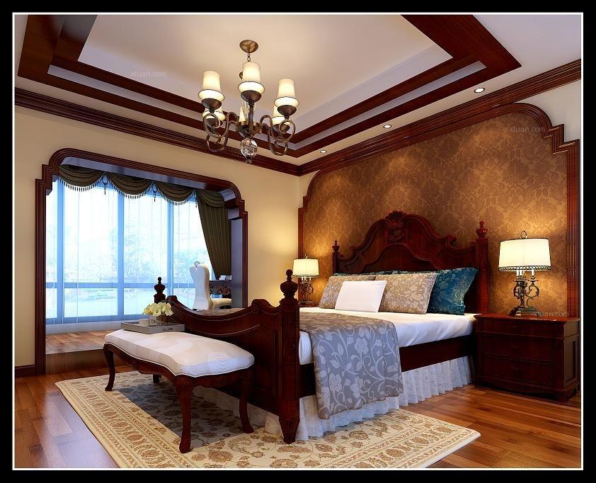 香逸澜湾-美式风格-二居室