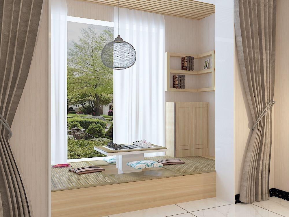 两居室现代简约阳台