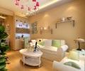 两居室田园风格效果图-90平清新时尚美居-济南实创装饰