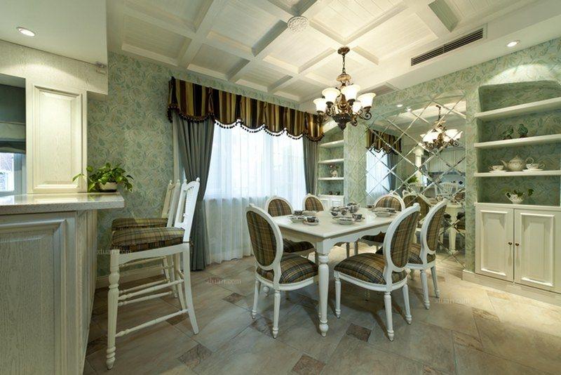 天鹅堡美式风格案例由尚层别墅装饰设计