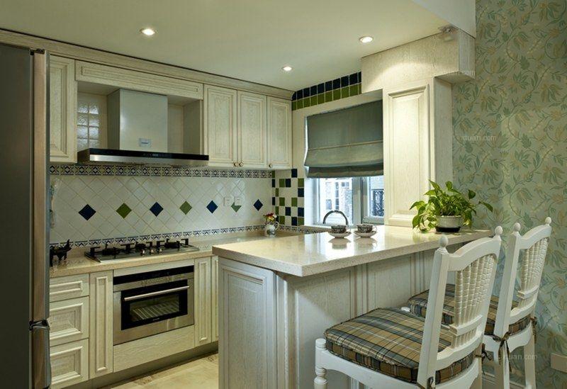 联排别墅美式风格厨房