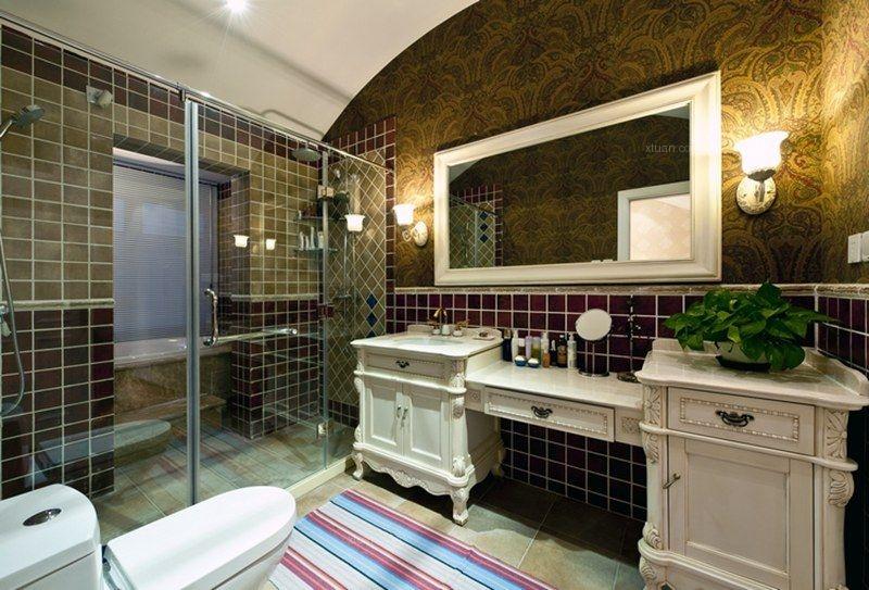 联排别墅美式风格洗手间