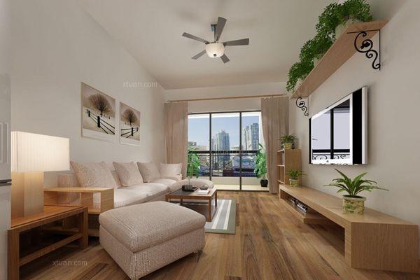 西山区金坤世纪80平方米现代风格中户型4.9万元