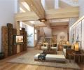 独栋大型别墅装修设计中式风格
