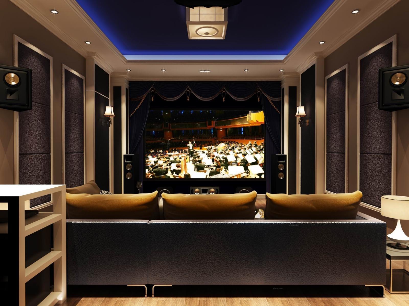 小户型时尚风格客厅电视背景墙