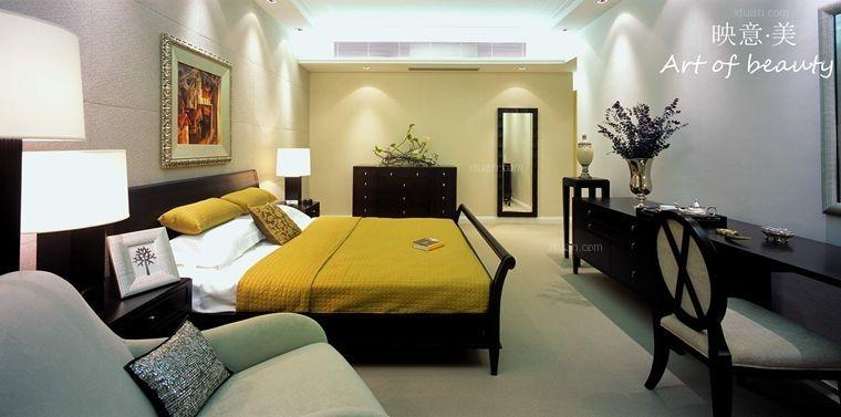 三室两厅中式风格主卧室软装
