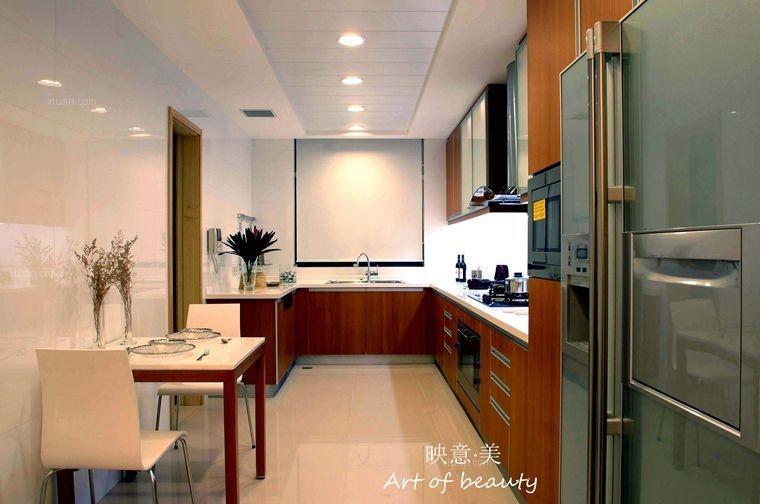 三室两厅中式风格厨房