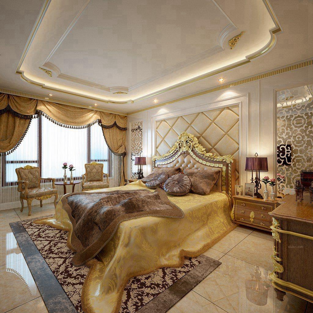 大户型古典风格客厅