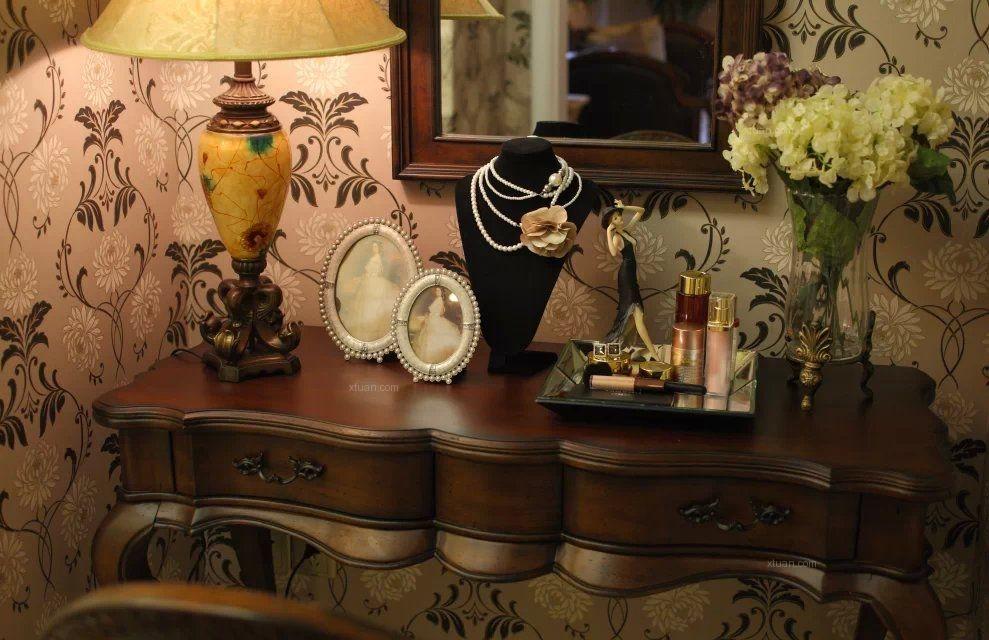 别墅美式风格衣帽间