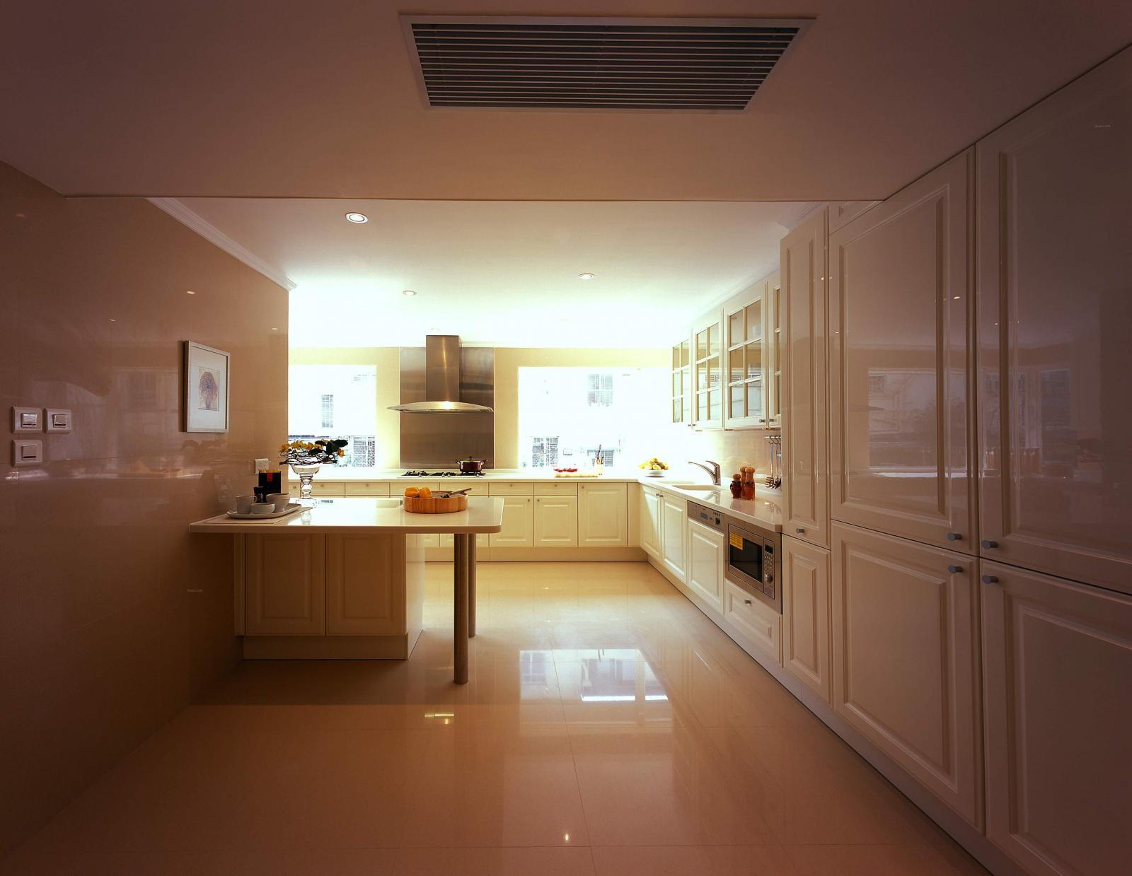 欧式风格厨房效果图