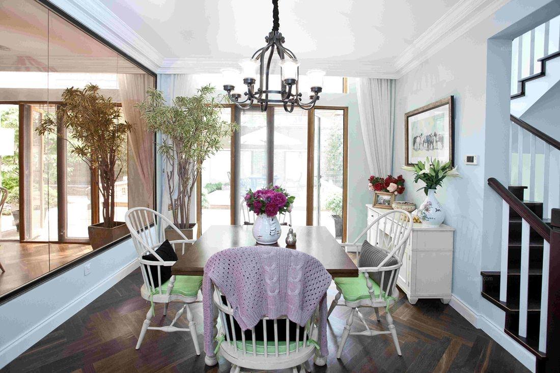 尚层别墅装饰设计龙湾混搭风格案例