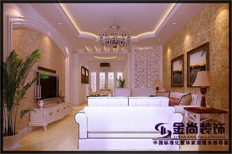 中海国际——120平——简欧