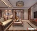 联盟新城140平米新中式风格案例