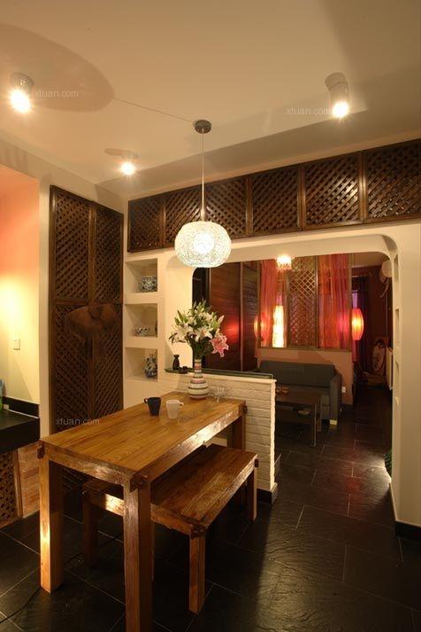 小户型东南亚风格餐厅