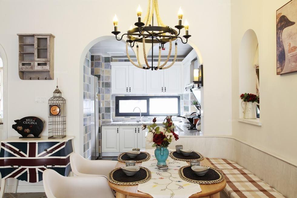 四居室混搭风格厨房