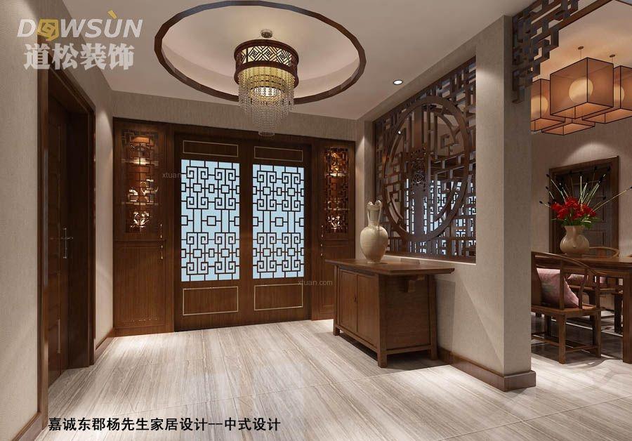 宜春市嘉诚东郡杨先生家居设计-中式风格