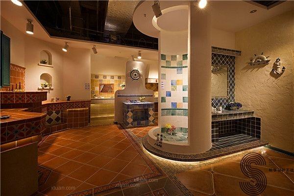 欧式风格店面_成都私享设计工社一个专业高端商铺设计