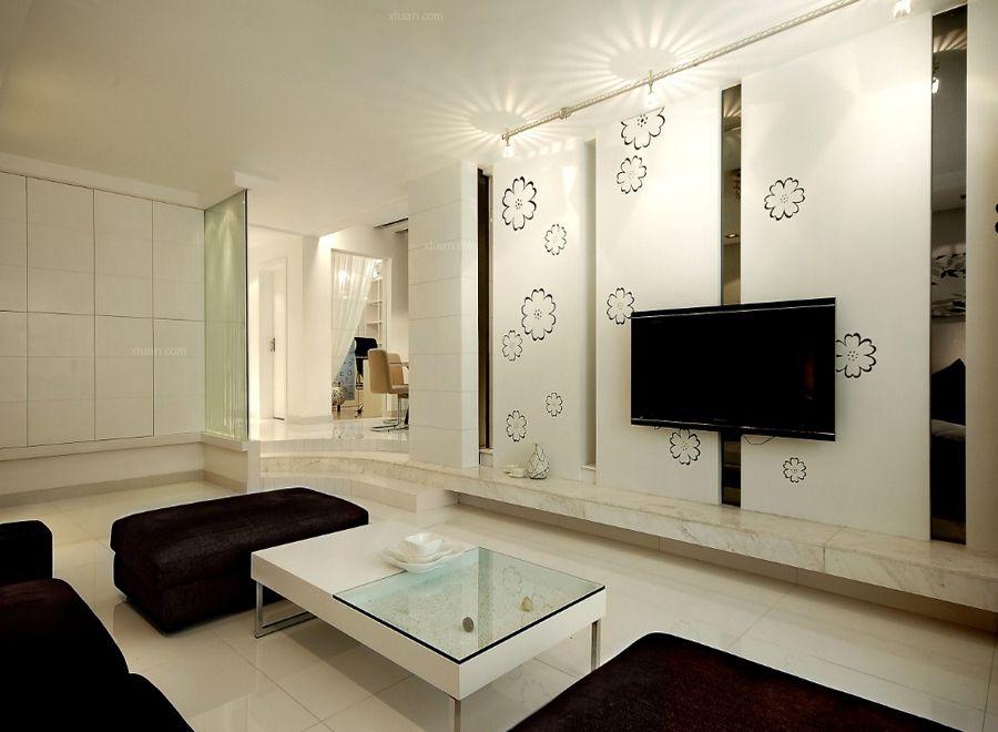 时尚风格-115平米三居室