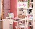 写字台书柜组合图片