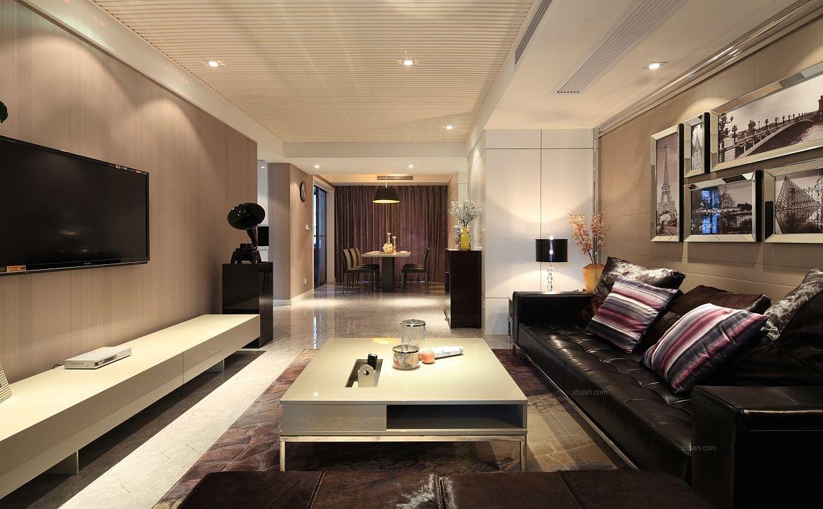 三居室雅致主义客厅